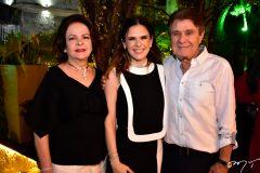 Nadja Parente, Niedja Bezerra e Jorge Parente