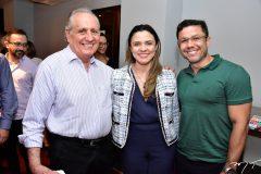 Walber Vieira, Célia Alcântara e Everton Rodrigues