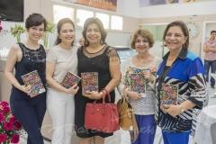 Beatrice Melo, Evelucia Melo, Socorro Lustosa, Maria Luiza Bomfim e Lúcia Lustosa