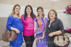 Camila Ferraz, Sellene Câmara, Niedja Bezerra e Tânia Ferraz