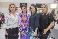 Cristina Aragão, Niedja Bezerra, Marília Quintão e  Manuella Romcy