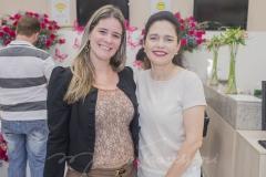 Flávia Pinheiro e  Evelucia Melo