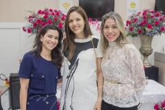 Lúcia Bezerra, Ana Flávia Junqueira e Rejane Macêdo