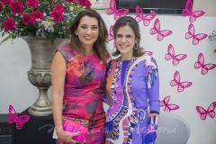 Mácia Travessoni e Niedja Bezerra