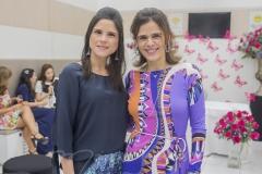 Marília Quintão e Niedja Bezerra