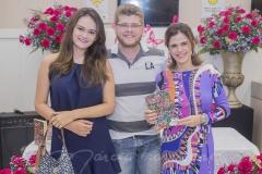 Nicole Porto, Alexandre Kerton e Niedja Bezerra