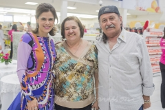 Niedja Bezerra, Sílvia Catunda e Gilberto Lendengues