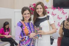 Niedja Bezerra e Ana Flávia Junqueira