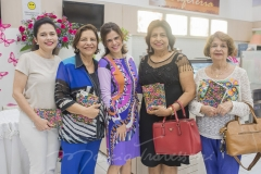 Evelucia Melo, Lúcia Lustosa, Niedja Bezerra, Socorro Lustosa e Maria Luiza Bonfm