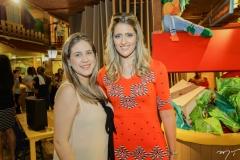 Ana Paula Aragão e Rebeca Leal