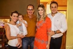 Camila, Daniel e Paulo Vieira, Rebeca e Bruno Bastos