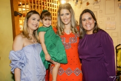Camila Sá, Athina Bastos, Rebeca Leal e Ana Leal