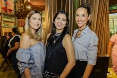 Camila Sá, Priscila Fontenele e Marcela Carvalho