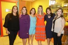 Carol Aragão, Ana Leal, Sílvia Brandão, Rebeca Leal, Priscila Leal e Ana Paula Aragão