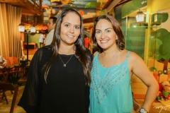 Carol Aragão e Sílvia Brandão