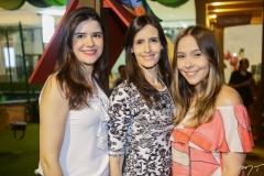Cibele Nunes, Júlia Perdigão e Rafaela Ximenes