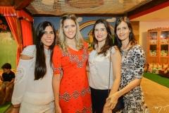 Daniela Cavalcante, Rebeca Leal, Cibele Nunes e Júlia Perdigão