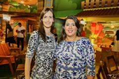 Júlia Perdigão e Miriam Bastos