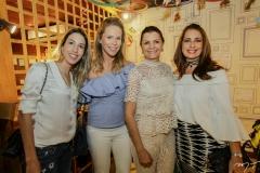 Júlia Rôla, Natália Pontes, Liliana Farias e Márcia Andréa