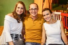 Márcia Andréa, Paulo e Camila Vieira