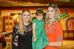 Morgana Dias Branco, Athina e Rebeca Bastos