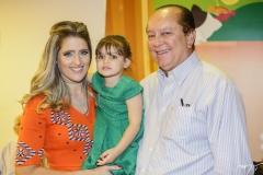 Rebeca, Athina e Rafael Leal