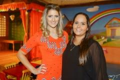 Rebeca Leal e Carol Aragão