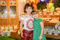 Sofia Fagundes e Athina Bastos