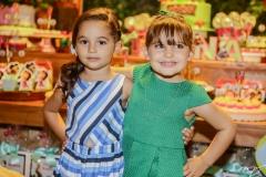 Valentina Aragão e Athina Bastos