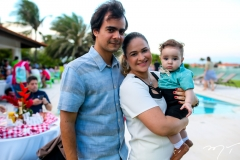 André, Roberta e André Machado