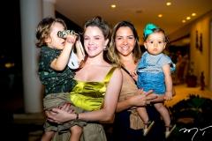 Bento Rocha, Paulinha Sampaio, Luiza e Isabela Gontijo