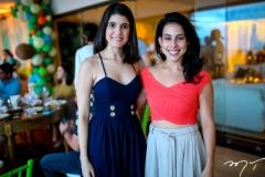Camila Egidio e Natalia Nobrega