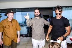 Claudio, Felipe e Claudio Rocha