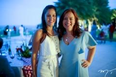 Daniela Frota e Aline Barroso