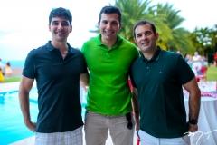 Diego Pesqueira, Halmont Poty e Abelardo Rocha