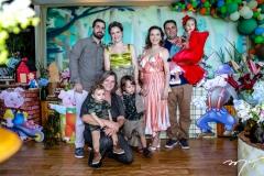 Felipe e Paulinha Rocha, Rafael Negreiros, Veronica Sampaio, Bento Rocha, Carol, Daniel e Liz Negreiros