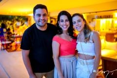 Leandro Texeira, Natalia Nobrega e Mirela Rocha