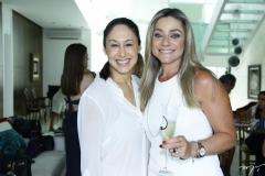 Larissa Coelho e Célia Magalhães
