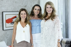 Sandra Machado, Roberta Nogueira e Alexandra Pinto