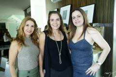 Wayne Moreira, Rafaela Pinto e Isabelle Borges