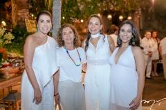 Denise Montenegro, Silvana Dias, Angela Gondim e Rafaela Sampaio