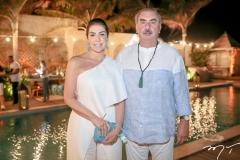 Denise e Cesar Montenegro