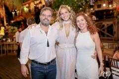 Edson Neto, Dani Gondim e Ticiana Queiroz