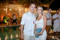 Felipe Bezerra e Denise Montenegro