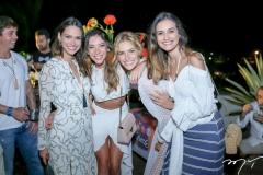 Laura Saldanha,Priscila Afil,Dani Gondim e Lu Palhano