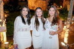 Mariana Sousa, Aline Braide e Larissa Mota