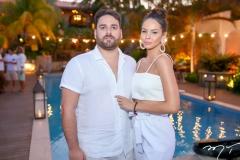 Mario Jereissate e Camila Lima