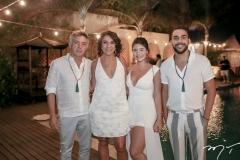 Ronaldo Mendes, Rosalia e Renata Sampaio e Ronaldo Junior