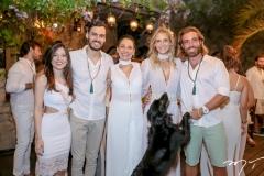Teresa Rocha, Victor, Angela e Dani Gondim e Andre Montenegro
