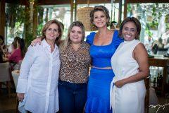 Nira Camilo, Viviane Freire, Ana Cristina Wolf e Gilvania Soares